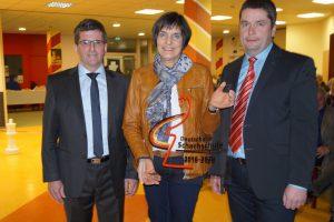 Verleihung des Siegels Deutsche Schachschule - klein