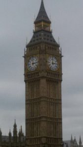 Der Uhrturm des Big Ben