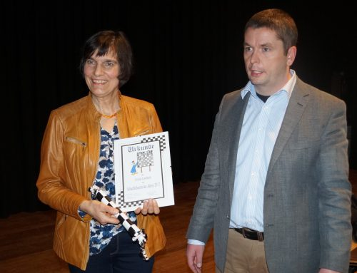 Ursula Lembach wird Deutsche Schachlehrerin des Jahres 2017