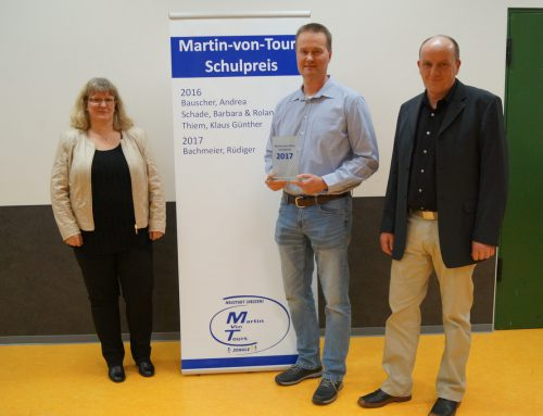Rüdiger Bachmeier mit Martin-von-Tours-Schulpreis ausgezeichnet