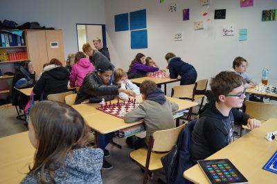Schüler und Gäste spielten gemeinsam