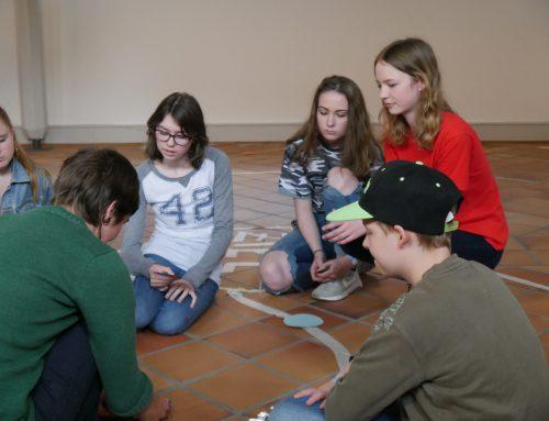 Fluchtwege für Schüler erfahrbar gemacht