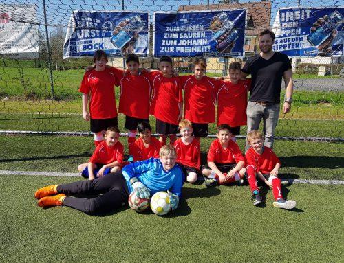 Martin-von-Tours-Schüler erreichen 2. Platz beim Fußballfest für Grundschulen