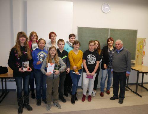 Vorlesewettbewerb: Vincent Helbig wurde Schulsieger