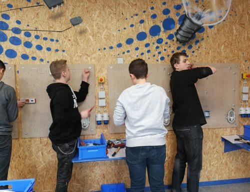 Werkstatt-Tage: Achtklässler schnupperten in Berufe hinein