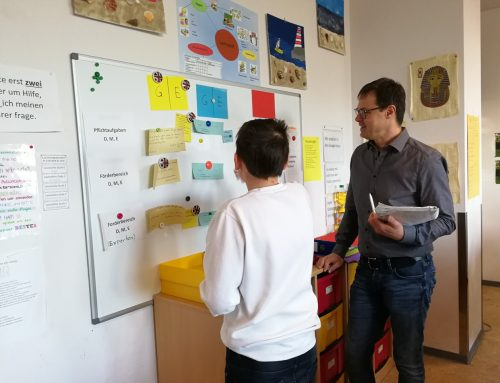 Lehrkräfte aus Bad Emstal zu Besuch an der Martin-von-Tours-Schule